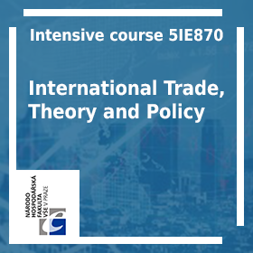 The Department of Economics offers a course of International Trade (5IE470)