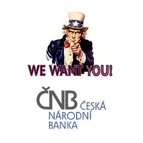 Česká národní banka vyhlašuje výběrové řízení k obsazení pracovní pozice Analytik ekonomiky