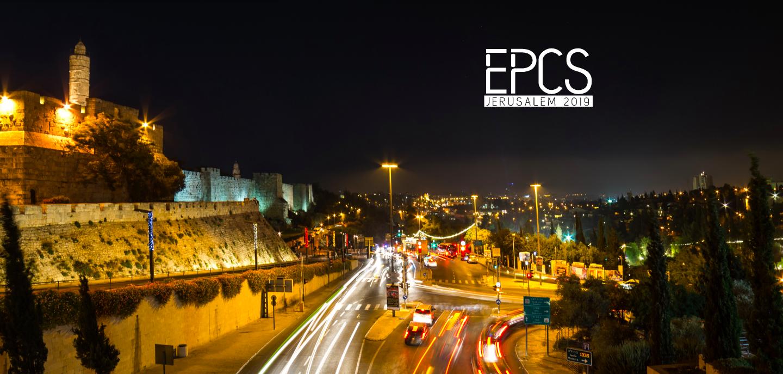 Světový výzkum z NF: Dr. Paola Bertoli a doc. Niclas Berggren prezentovali na konferenci EPCS 2019 v Jeruzálémě