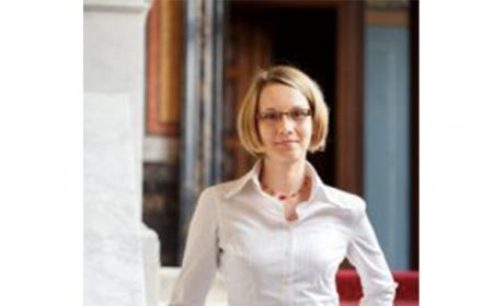 Dr. Kalíšková z Katedry ekonomie NF pro časopis Ekonom